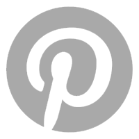 Pinterest Icon – Light Gray