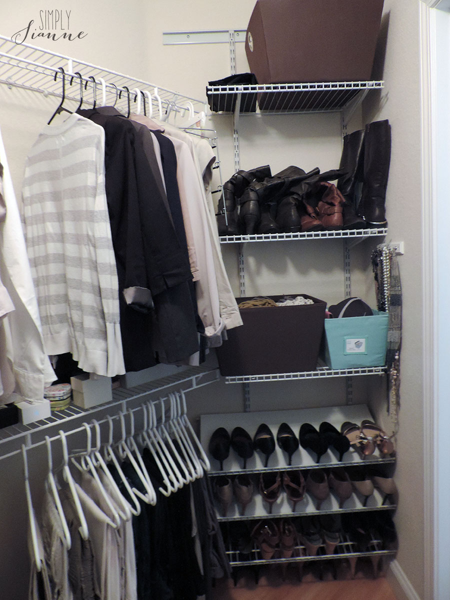 Fall Cleaning – Closet 2