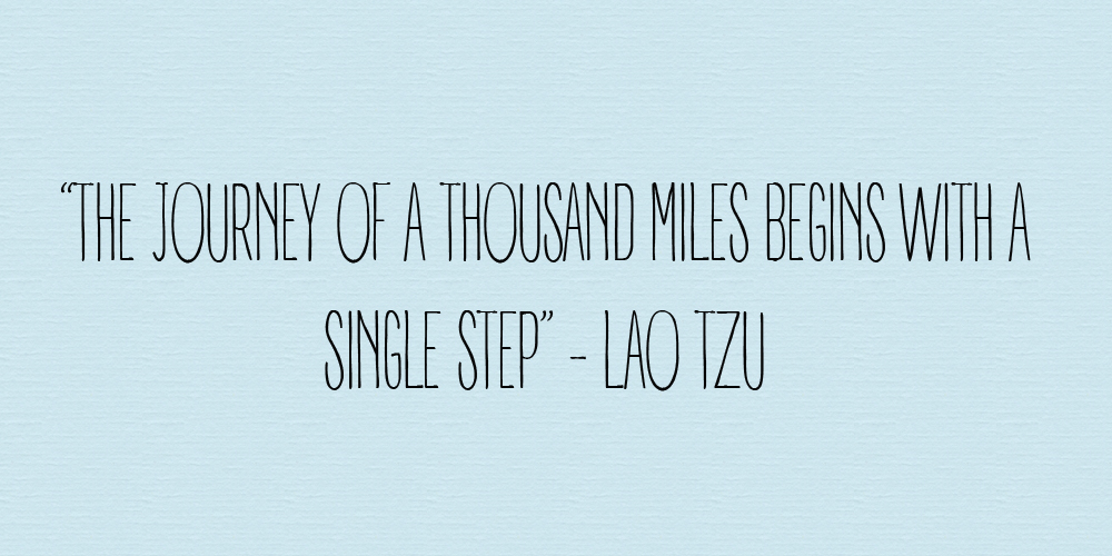 A thousand miles quote