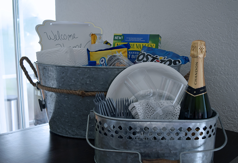 Welcome Home Gift Basket 10