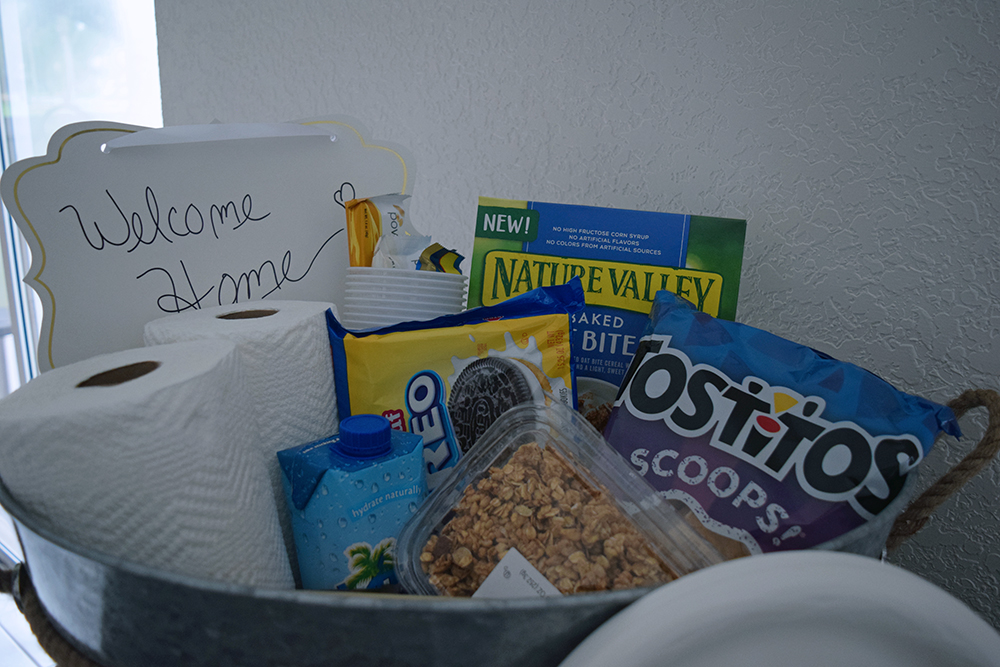 Welcome Home Gift Basket 8