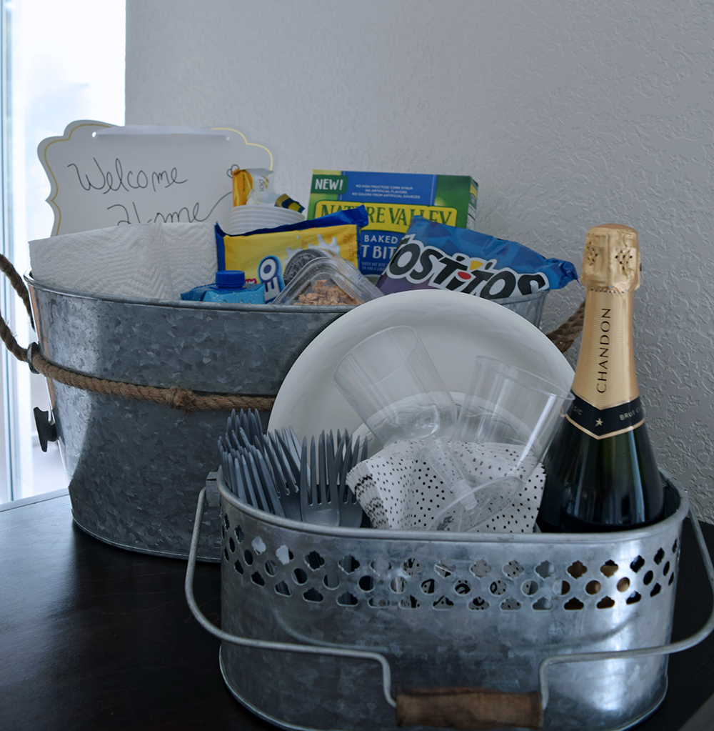 Welcome Home Gift Basket 9